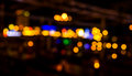 Blurred bokeh background with warm orange lights blurred imaeg of Royalty Free Stock Photography