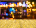Blurred bokeh background with warm orange lights blurred imaeg of Stock Image