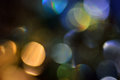 Blurred, bokeh lights background. Abstract sparkles Royalty Free Stock Images