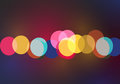 Blurred Bokeh Ligths Stock Images