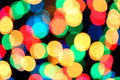 Blurred christmas background abstract colorful Royalty Free Stock Images