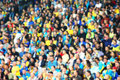 Blurred crowd of spectators Royalty Free Stock Photo