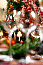Blurred decoration Stock Image