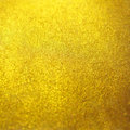 Blurred gold golden metal glitter surface background texture Royalty Free Stock Photo
