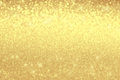 Blurred golden shiny background. Christmas mock-up or greeting c