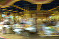 Blurred Merry Go Round Stock Photo