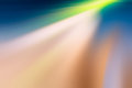 Blurred rays colored and tonal change Royalty Free Stock Photography