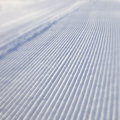 Blurred snow track Stock Photo