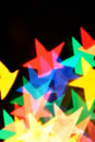 Blurred stars Royalty Free Stock Photo