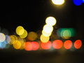 BlurredLights Royalty Free Stock Photo