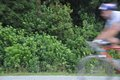Blurry bikes Royalty Free Stock Photos