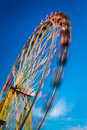 Blurry ferris wheel in motion Stock Image