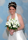 Blushing Bride Portrait Royalty Free Stock Photo