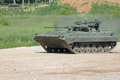 The bmp m infantry combat vehicle military ground alabino moscow oblast russia jun is a modernized second generation amphibious Stock Image