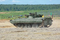 The bmp m infantry combat vehicle military ground alabino moscow oblast russia jun is a modernized second generation amphibious Stock Photo