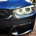 BMW Angel Eyes Royalty Free Stock Photo