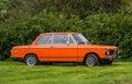 1974 BMW 2002 Royalty Free Stock Photo