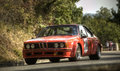 Bmw csi a lucchini sn attends the th edition of chianti classic cup a competition race of hill climb for hystorical cars valid for Royalty Free Stock Photography
