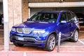 BMW E53 X5 Royalty Free Stock Photo