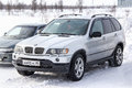 BMW E53 X5 Royalty Free Stock Photo
