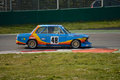 BMW 2002 GS Tuning test 2016 at Monza Royalty Free Stock Photo