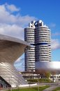 Bmw headquarters munich germany a big landmarks in and world Royalty Free Stock Photography