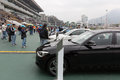 Bmw hong kong derby raceday the is held on march at sha tin racecourse latest car models from the title sponsor are Royalty Free Stock Images
