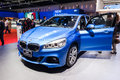 Bmw i active tourer on display nonthaburi thailand march th showed in thailand the th bangkok international motor show march Stock Photo