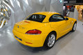 BMW jaune Z4 sDrive23i Photos stock