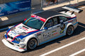 Bmw m race car photographed during histocup event at slovakia ring on august Royalty Free Stock Images