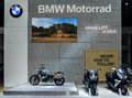BMW Motorrad booth at The 37th Bangkok International Motor Show Royalty Free Stock Photo