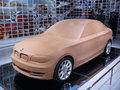 BMW plaster model Royalty Free Stock Image