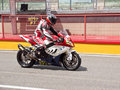 BMW S 1000 RR - Trofeo Ialiano Amatori Royalty Free Stock Image