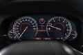 BMW 7 series speedometer Royalty Free Stock Photo