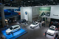 Bmw x new generation world premiere frankfurt international motor show iaa Royalty Free Stock Images