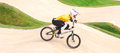 Bmx olympics sam willoughby of australia silver medalist in the heats of the london olympic games Stock Photo