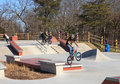 BMX Riders Lake Fairfax Skatepark Reston Virginia Stock Photo