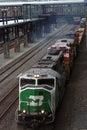 BNSF Railway Company, Diesel Locomotive Stock Images