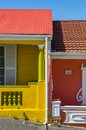 Bo kaap cape town porch the colourful situated in in the western is a great tourist spot colourful detail Royalty Free Stock Photo
