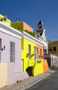 Bo kaap street, cape town Stock Images