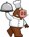 Boar Chef Stock Photo