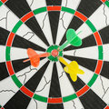 Board for darts. Royalty Free Stock Photos