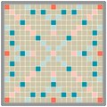 Board game erudition, educational qualifications, Board biggest Scrabble Royalty Free Stock Photo