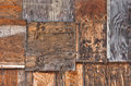 Boarded up a full frame image of a wall section Royalty Free Stock Photo