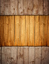 Boarded up old wooden fence Stock Photography