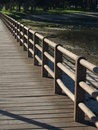 Boardwalk By The Lake Royalty Free Stock Photo