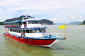 Boat on the andaman sea Royalty Free Stock Images