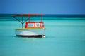 Boat in Aruba Royalty Free Stock Photo