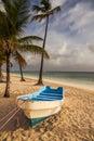Boat On The Beach, Caribbean S...