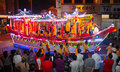 Boat design floats at Wesak Procession 2011 Royalty Free Stock Photography